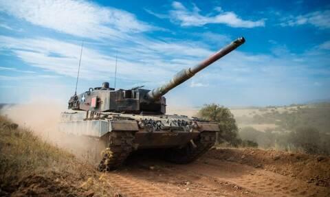 Στρατός Ξηράς: Φωτιά και ατσάλι από ελληνικά και αμερικανικά άρματα μάχης - Εντυπωσιακές εικόνες