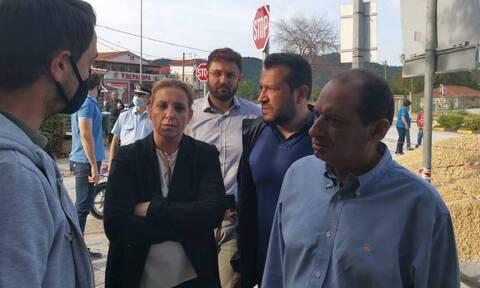 Κακοκαιρία «Ιανός»: Επίσκεψη κλιμακίου του ΣΥΡΙΖΑ στις πληγείσες περιοχές της Καρδίτσας