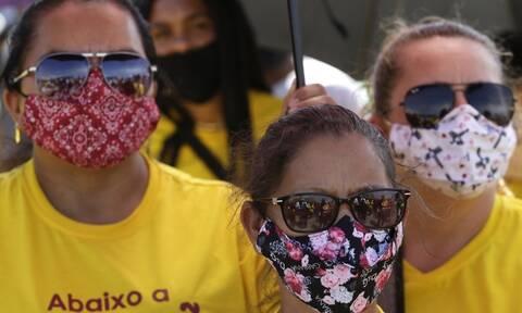 Κορονοϊός – Βραζιλία: 739 Νέοι θάνατοι της COVID-19