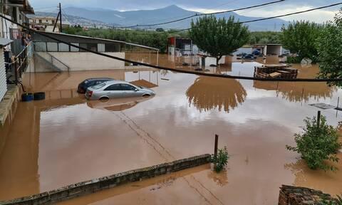 Κακοκαιρία Ιανός: Αποκλεισμένα έξι χωριά στο Μουζάκι - Αγωνία για τους τρεις αγνοουμένους