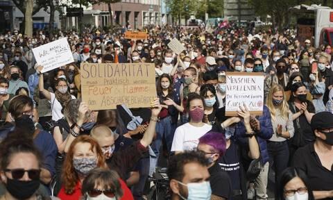 Γερμανία: Χιλιάδες διαδηλωτές ζητούν από την ΕΕ να δεχθεί πρόσφυγες από τη Μόρια