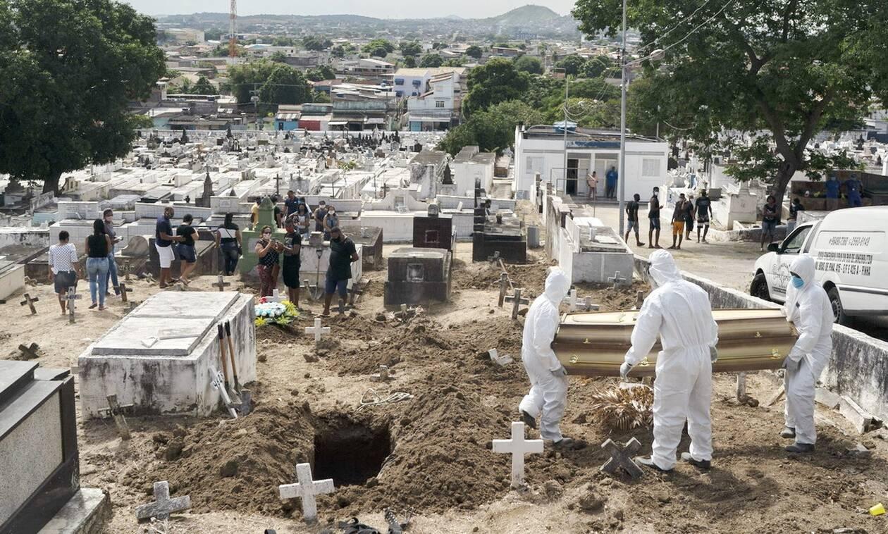 Κορονοϊός στη Βραζιλία: 16.389 κρούσματα και 363 θάνατοι σε 24 ώρες