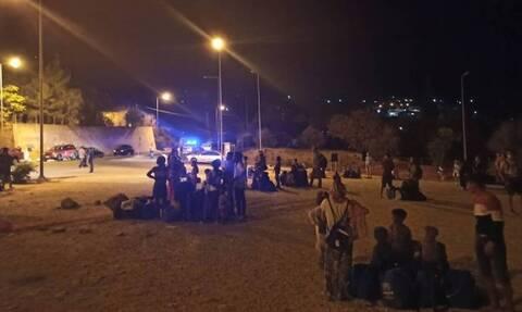 Φωτιά στο Κέντρο Υποδοχής και Ταυτοποίησης στη Σάμο - Tρεις ελαφρά τραυματίες