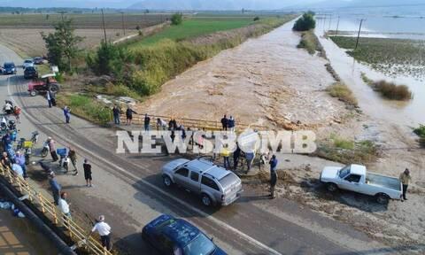 «Ιανός» - Καρδίτσα: Σε απόγνωση οι αγρότες στα Φάρσαλα – Ήρθαν αντιμέτωποι με την απόλυτη καταστροφή