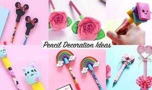 Απίθανη κατασκευή για παιδιά: Φτιάξτε μοναδικά στυλό και μολύβια