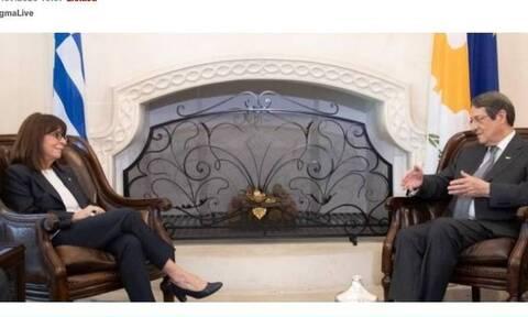 Президенты Греции и Кипра обсудили ситуацию в Восточном Средиземноморье