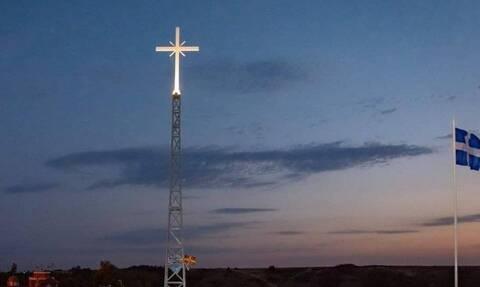Έβρος: Έξαλλος ο Ερντογάν με τον Σταυρό στη Νέα Βύσσα