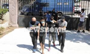 Μυτιλήνη: Προφυλακίστηκαν οι έξι Αφγανοί που κατηγορούνται για τον εμπρησμό της Μόριας