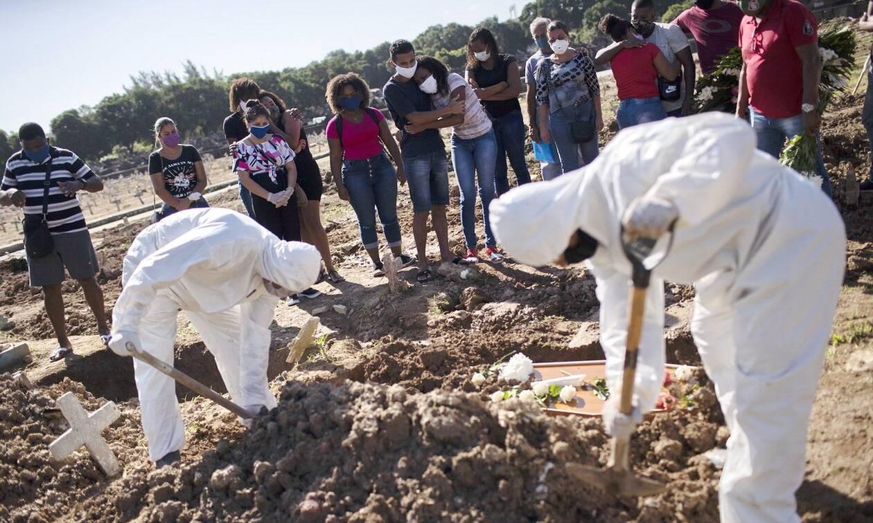 Κορονοϊός στη Βραζιλία: 13.439 κρούσματα και 377 νέοι θάνατοι σε 24 ώρες