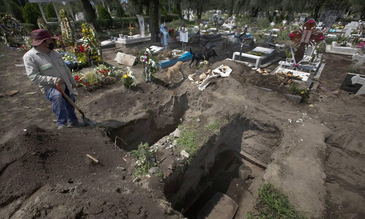 Κορονοϊός στο Μεξικό: Πάνω από 700.000 τα κρούσματα - Σχεδόν 74.000 οι νεκροί