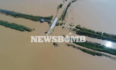 Περισσότερα από 210.000 στρέμματα κάτω από το νερό στον θεσσαλικό κάμπο