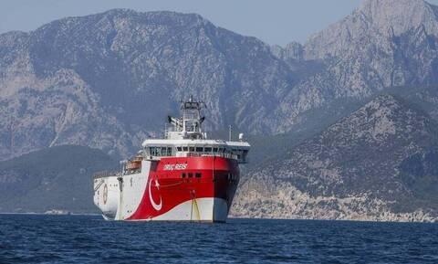 Ύποπτες κινήσεις του Oruc Reis – Βγήκε από το λιμάνι της Αττάλειας