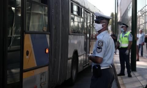 Επεισόδιο στη Συγγρού: Τον έβγαλαν σηκωτό από το λεωφορείο επειδή αρνήθηκε να βάλει μάσκα (vid)
