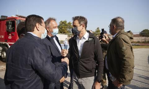 Μητσοτάκης: Επίσκεψη του πρωθυπουργού στις πληγείσες περιοχές στην Καρδίτσα