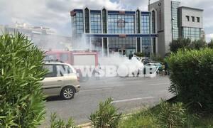 Φωτιά σε αυτοκίνητο στην Αργυρούπολη - Τεράστιο μποτιλιάρισμα