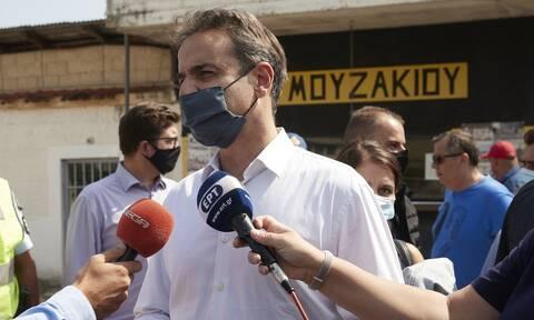 Καρδίτσα - Μητσοτάκης: Θα αποζημιωθούν οι πληγέντες-Kαμία κατανόηση σε αδικαιολόγητες καθυστερήσεις