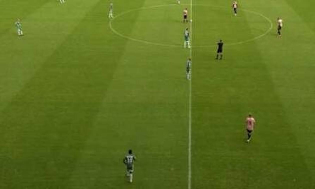 Απίστευτο! Ένας ποδοσφαιριστής έγινε... αλλαγή σε μόλις 13 δευτερόλεπτα