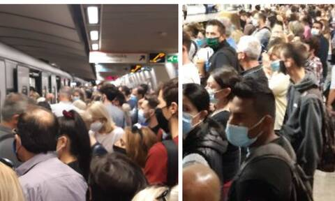 Κορονοϊός: Αγανάκτηση για τις καθυστερήσεις στο Μετρό - «Βλέπει» οργανωμένο σχέδιο η ΣΤΑΣΥ
