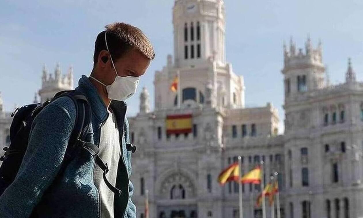 Iσπανία - κορονοϊός: Σοκάρουν οι αριθμοί - 10.800 νέα κρούσματα