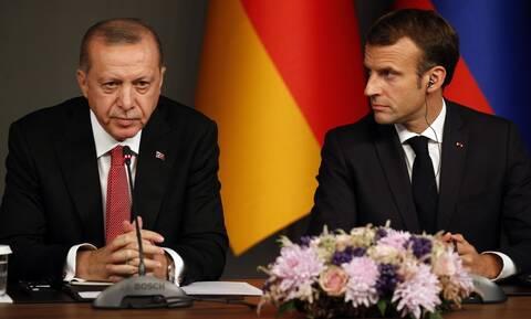 Ο Μακρόν καλεί τον Ερντογάν «να σέβεται πλήρως την κυριαρχία των κρατών μελών της ΕΕ»