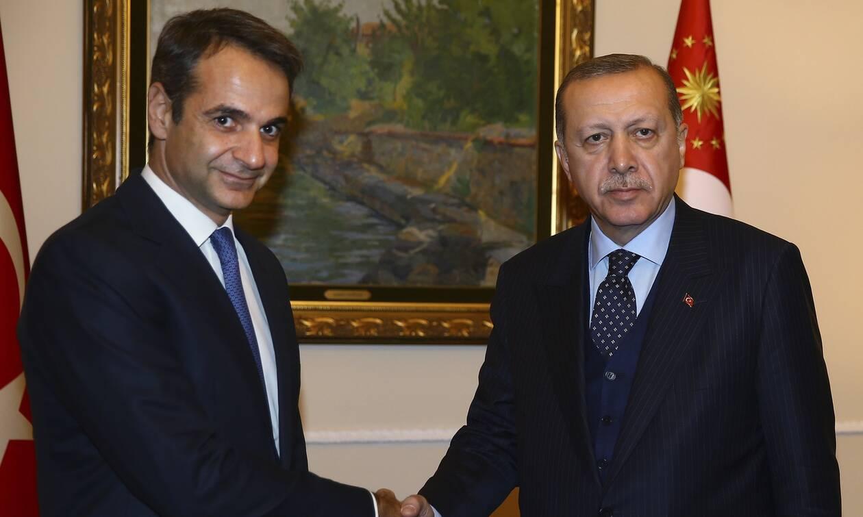 Ανοιχτό το ενδεχόμενο για επικοινωνία Μητσοτάκη - Ερντογάν
