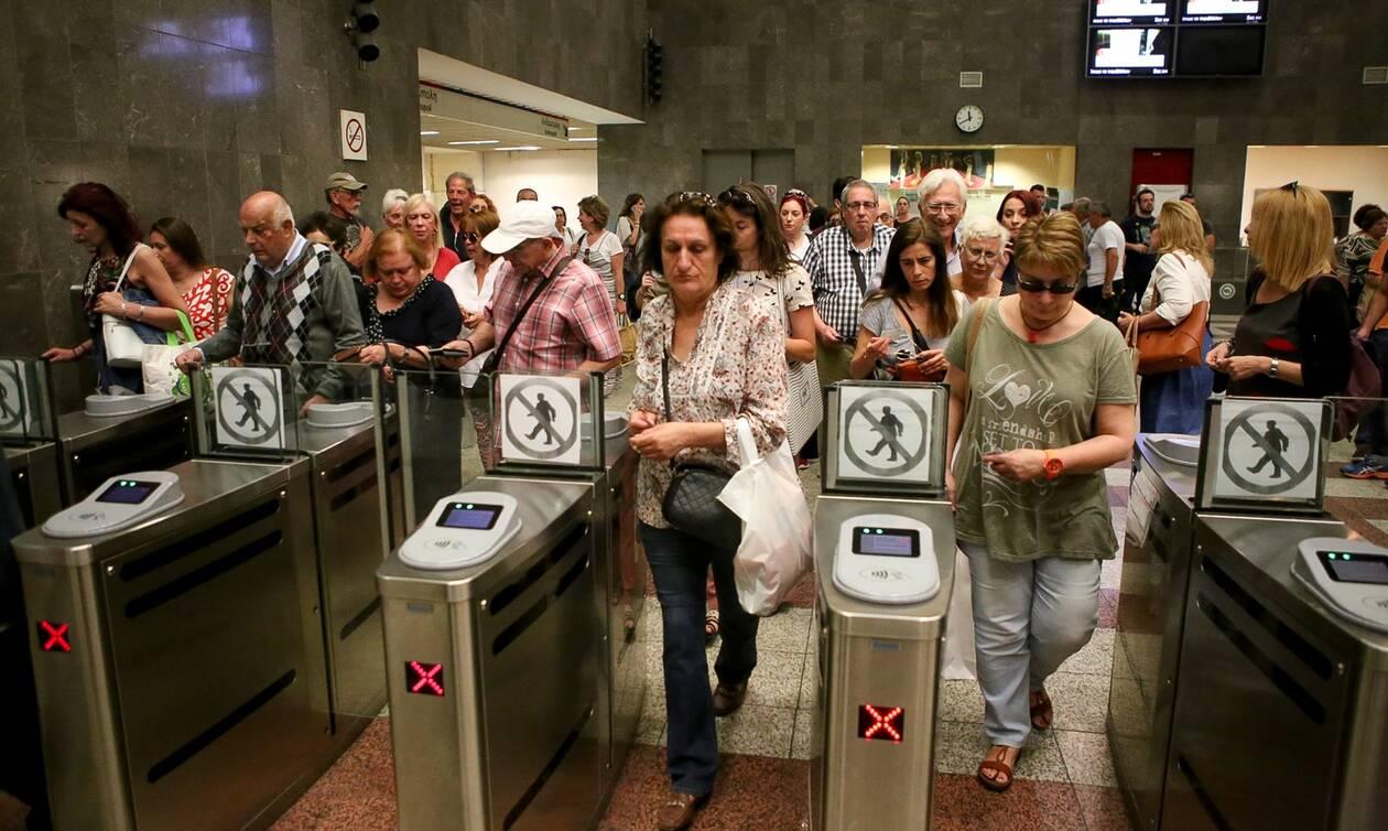 Κορονοϊός: Συνωστισμοί σε βαγόνια και σταθμούς - Η απάντηση της ΣΤΑΣΥ