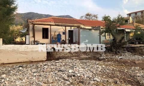 Ρεπορτάζ Newsbomb.gr: Μετρούν τις πληγές τους οι κάτοικοι - Η επόμενη ημέρα της καταστροφής