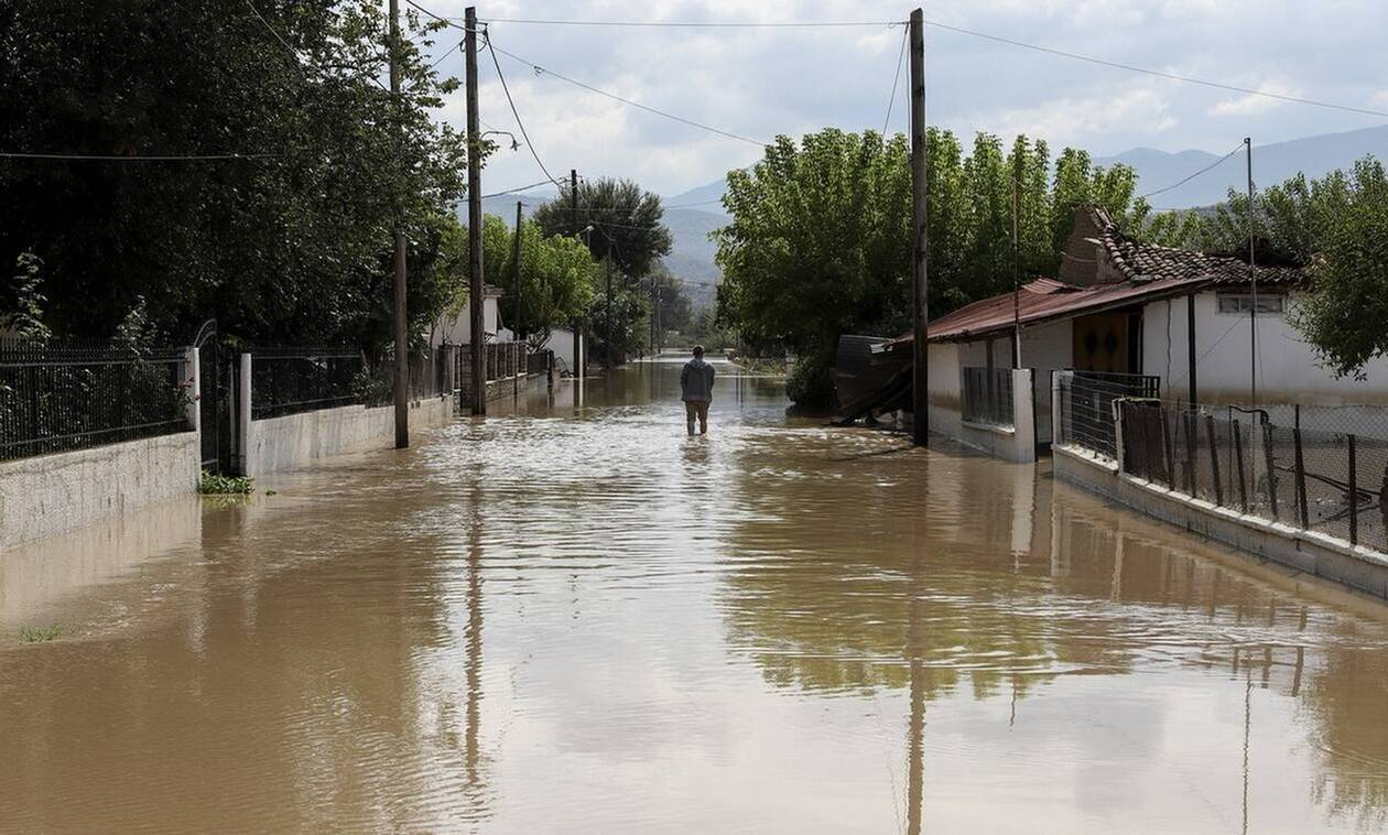 Κέρκυρα: Έντονα καιρικά φαινόμενα πλήττουν το νησί - Κλειστά την Πέμπτη τα σχολεία στην Κασσιόπη