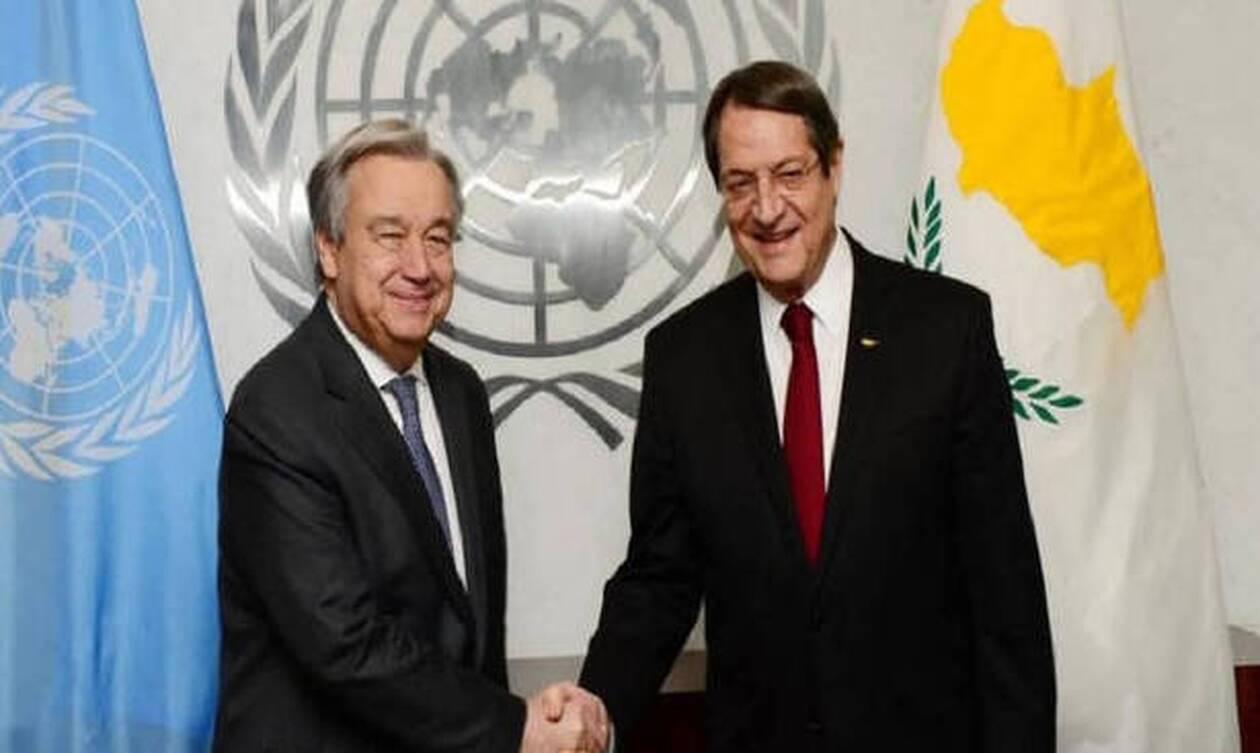 Τηλεδιάσκεψη με ΓΓ ΟΗΕ θα έχει ο Αναστασιάδης - Στο επίκεντρο το Κυπριακό
