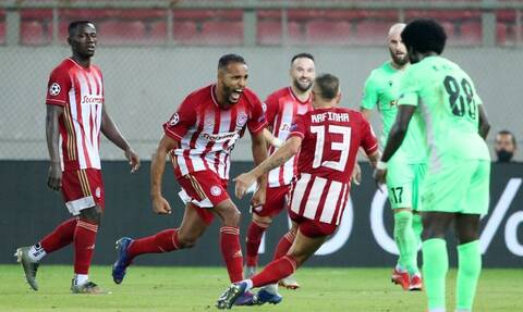 Ολυμπιακός – Ομόνοια 2-0: Τα highlights του αγώνα (video+photos)