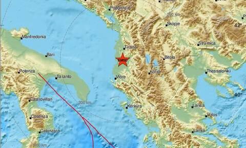 Σεισμός στην Αλβανία - Αισθητός σε πολλές περιοχές