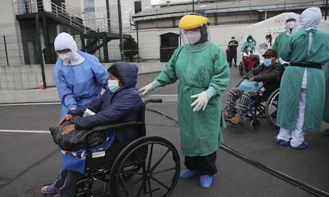 Σε έξαρση ο κορονοϊός στον Ισημερινό: Ρεκόρ 2.249 κρουσμάτων μόλυνσης σε 24 ώρες