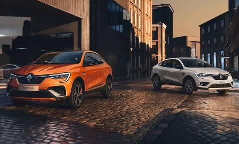 Το Arkana, το όμορφο SUV Coupe της Renault, ήρθε και στην Ευρώπη εξηλεκτρισμένο