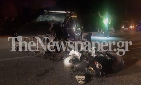 Τραγωδία στο Βόλο: Νεκρός 21χρονος οδηγός μηχανής σε φρικτό τροχαίο