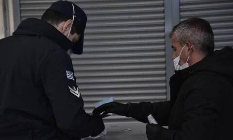 Κορονοϊός- Έλεγχοι ΕΛΑΣ: Εννέα παραβάσεις καταστημάτων και 237 πρόστιμα για μη χρήση μάσκας