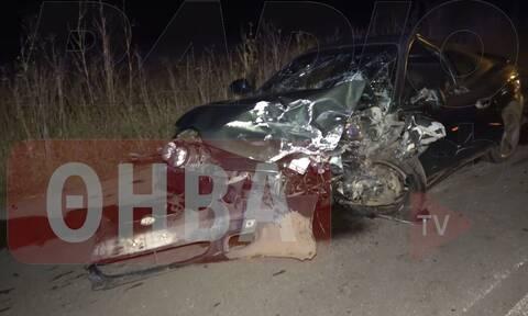 Βοιωτία: Καραμπόλα με τραυματίες έξω από τη Θήβα