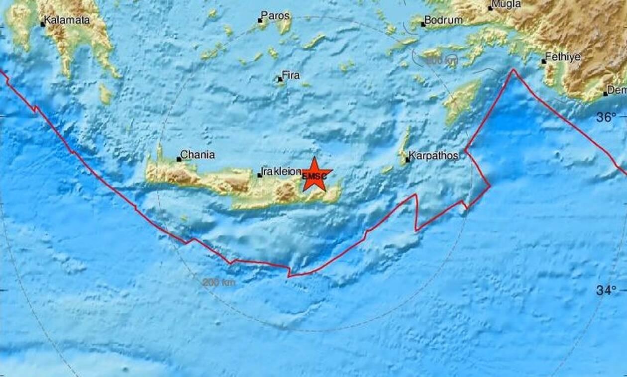 Σεισμός ΤΩΡΑ στην Κρήτη: Νέα σεισμική δόνηση κοντά στον Αγιο Νικόλαο (pics)