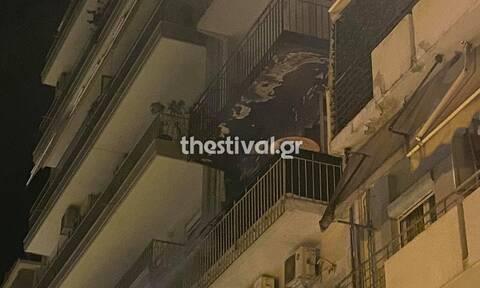 Φωτιά σε διαμέρισμα στο κέντρο της Θεσσαλονίκης - Δύο άτομα στο νοσοκομείο