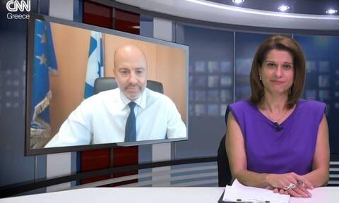 Ζαριφόπουλος στο CNN Greece: Επανάσταση το 5G – Νέες υπηρεσίες στο gov.gr