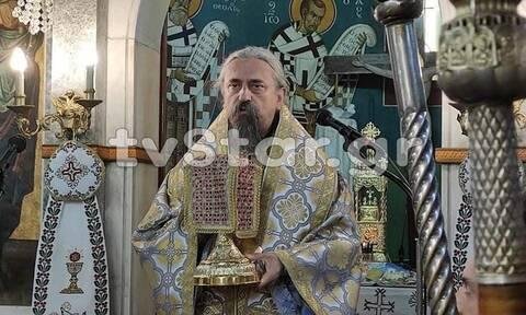 Κορονοϊός: «Αντάρτικο» από τον Μητροπολίτη Καρπενησίου