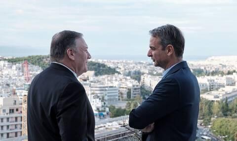 Στην Ελλάδα ο Μάικ Πομπέο: Ενέργεια και ασφάλεια στο επίκεντρο - Τι αναφέρει το State Department