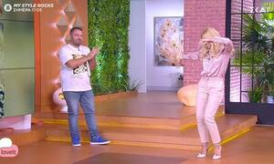 Το ζεϊμπέκικο της Μαλέσκου στο Love it! (Video)