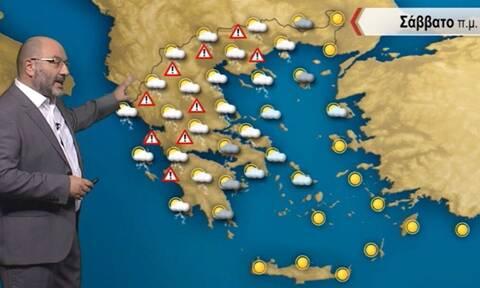 Μεγάλη προσοχή τις επόμενες ώρες! Προειδοποίηση Αρναούτογλου για κίνδυνο καταστροφών
