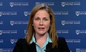 ΗΠΑ: Η Έιμι Κόνεϊ Μπάρετ επικρατέστερη υποψήφια για το Ανώτατο Δικαστήριο
