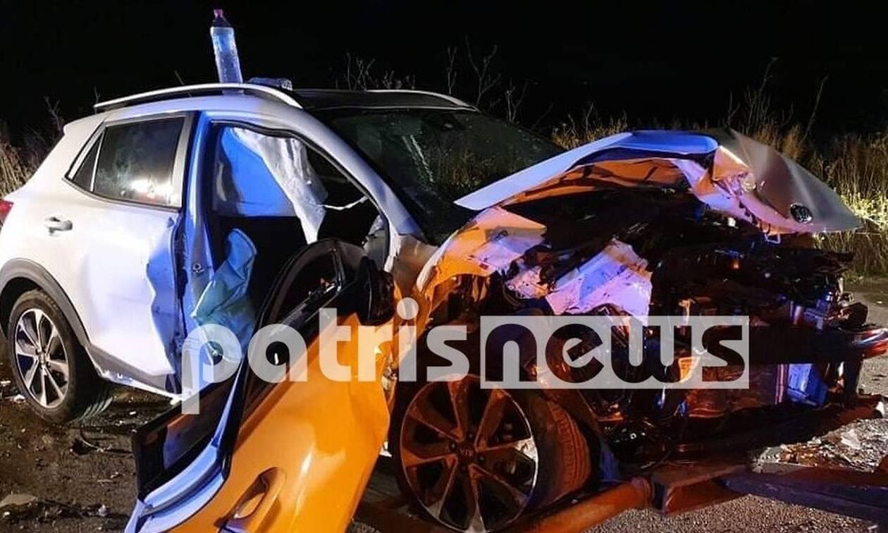 Μανωλάδα: Σοβαρό τροχαίο με 3 τραυματίες στην Πατρών - Πύργου