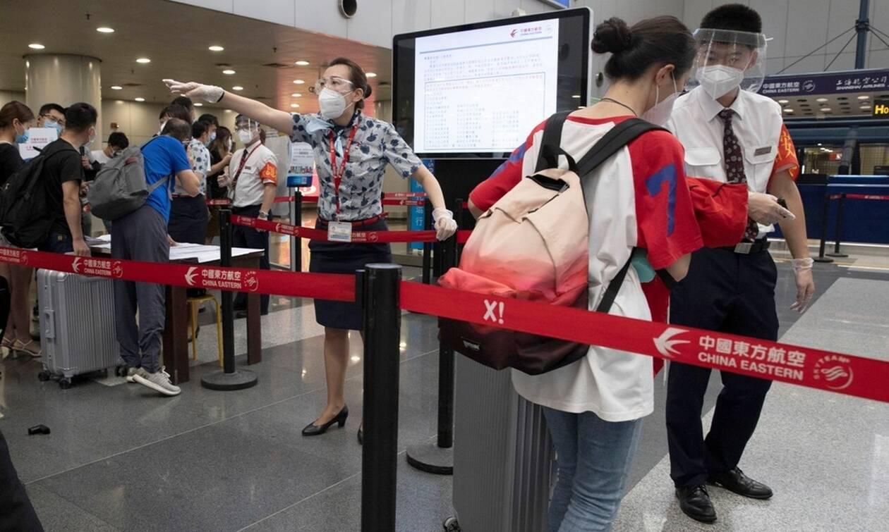 Κορονοϊός - Κίνα: 15 νέα κρούσματα σε 24 ώρες, όλα «εισαγόμενα»