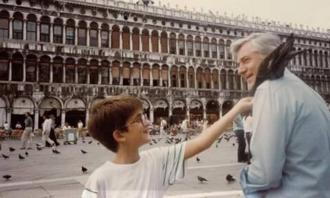 Κώστας Μπακογιάννης: Η συγκινητική φωτογραφία για τον πατέρα του, Παύλο