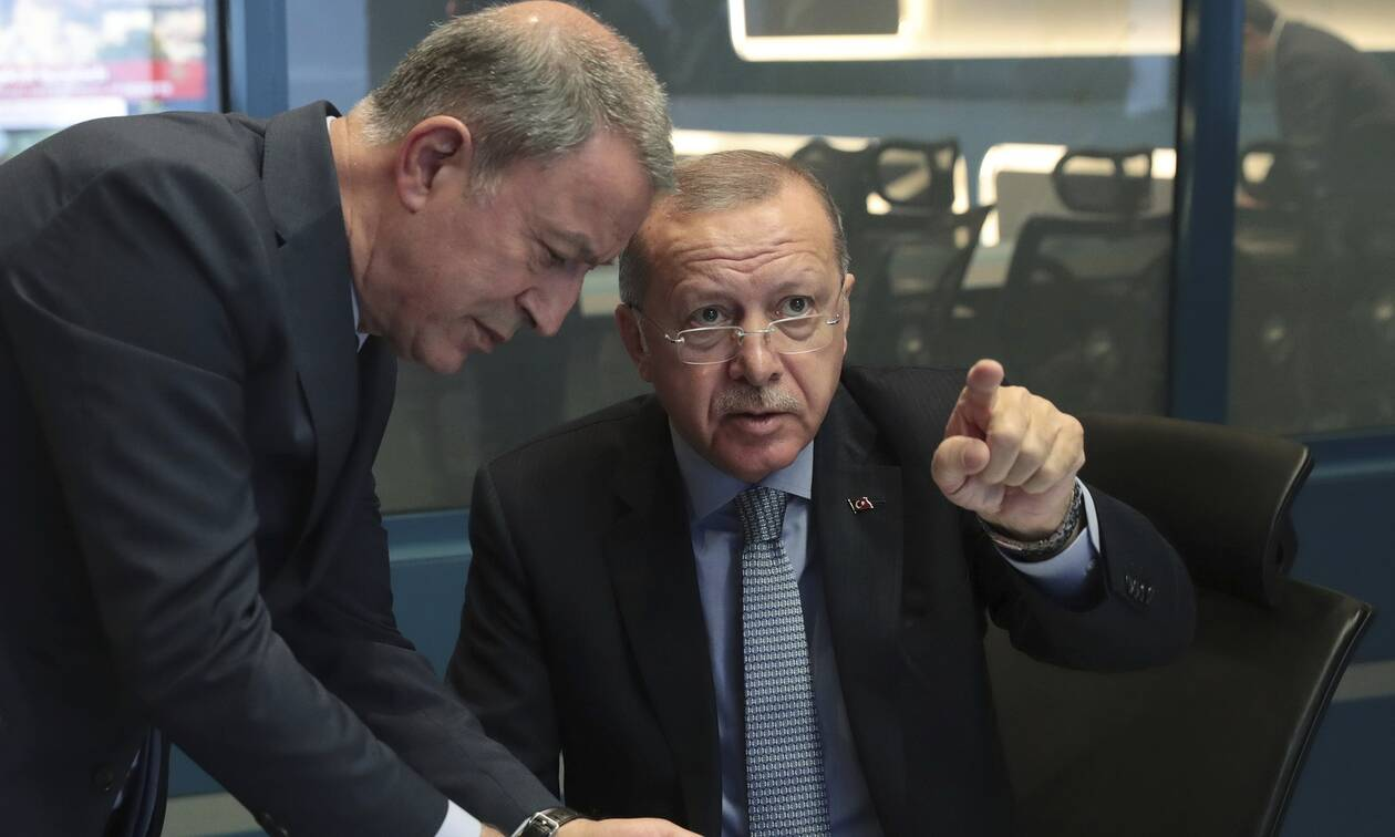 Τον χαβά τους Ερντογάν και Ακάρ: Θα υπερασπιστούμε την Γαλάζια Πατρίδα