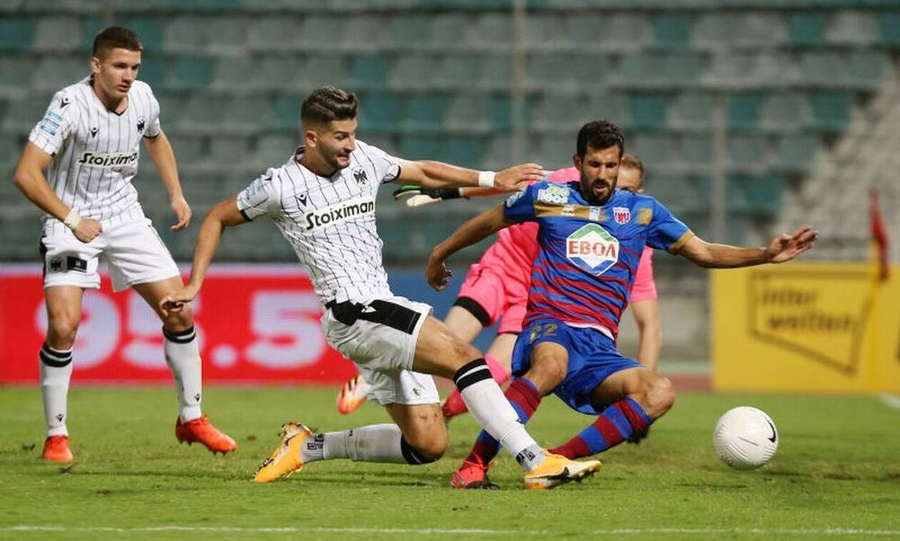 ΝΠΣ Βόλος - ΠΑΟΚ 0-0: Δείτε τα highlights του αγώνα