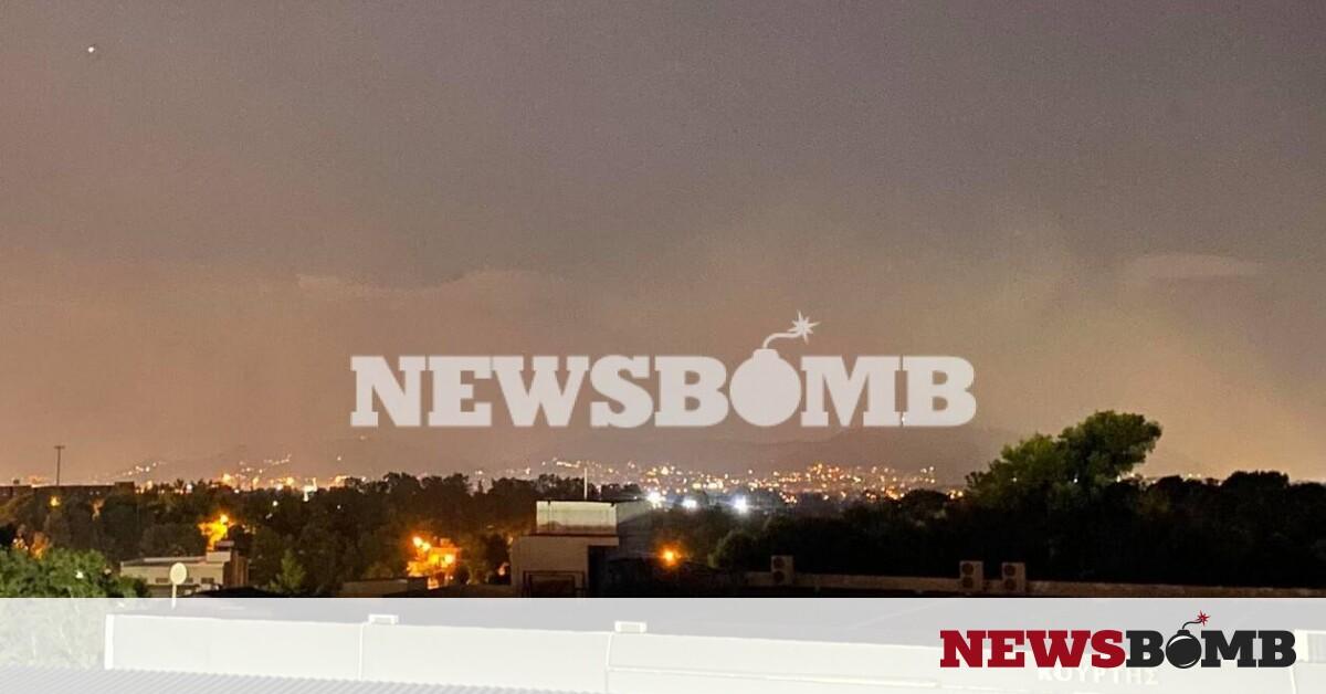 Προσοχή! Μήνυμα από το 112 σε κατοίκους της Αττικής – Μεγάλη φωτιά τώρα στο ΧΥΤΑ Φυλής – Newsbomb – Ειδησεις